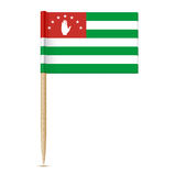 Flag of Abkhazia 10eps. Flag of Abkhazia. Flag toothpick 10eps Royalty Free Illustration