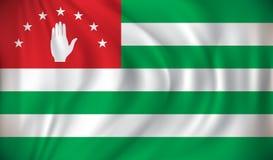 Flag of Abkhazia. Vector illustration Royalty Free Illustration