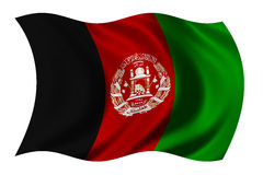 Flag of Afghanistan Royalty Free Stock Photo
