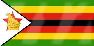 Zimbabwe Flag. The flag of the African country Zimbabwe Royalty Free Stock Photos