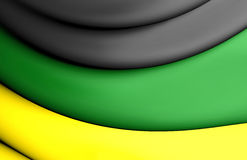Flag of African National Congress Stock Photo