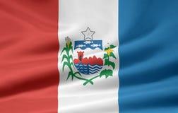 Flag of Alagoas. The flag symbolizes the brazil state of Alagoas Royalty Free Stock Photos