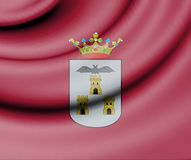 Flag of Albacete, Spain. Royalty Free Stock Photography