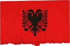 Flag of albania Stock Photo