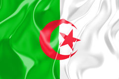Flag of Algeria Royalty Free Stock Image