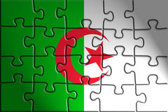 Flag of Algeria Stock Image