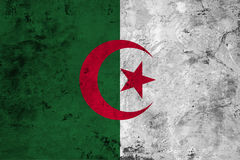 Flag of the Algeria close up Royalty Free Stock Photo