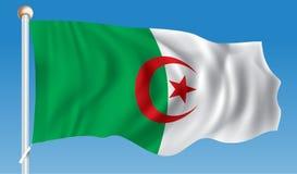 Flag of Algeria. Vector illustration Royalty Free Stock Image