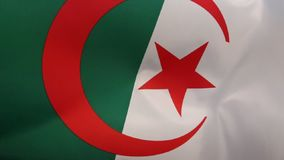 Flag of Algeria Stock Photos