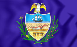 Flag of Allegheny County Pennsylvania, USA. Stock Images