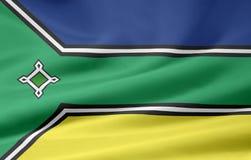 Flag of Amapa. The flag symbolizes the brazil state of Amapa Royalty Free Stock Images
