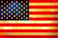 Flag of America Royalty Free Stock Photography