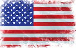 Flag of america Stock Image