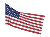 FLAG AMERICA. / 3D Rendering Stock Stock Photos