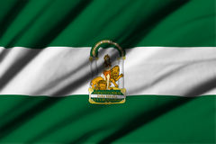 Flag of Andalucia Stock Image