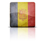 Flag Of Andora Stock Image