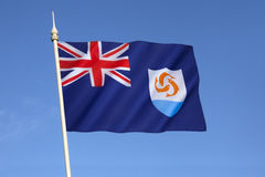 Flag of Anguilla Stock Images