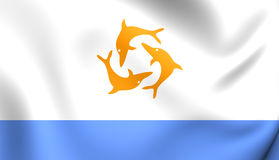 Flag of the Anguilla Stock Image