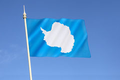 Flag of Antarctica Stock Image