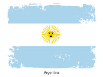 Flag of Argentina Royalty Free Stock Image
