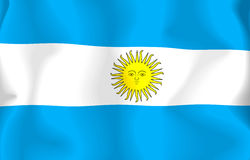 Flag of Argentina Royalty Free Stock Images