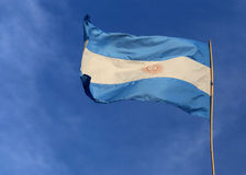 Flag of Argentina Stock Photos