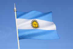Flag of Argentina - South America Stock Image