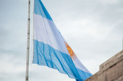 Flag of Argentine Stock Photography