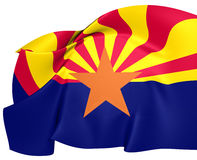 Flag of Arizona Royalty Free Stock Photo