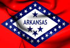 Flag of Arkansas Stock Image
