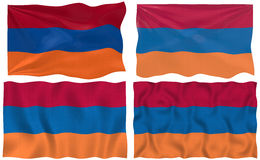 Flag of Armenia Stock Image