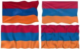 Flag of Armenia stock image