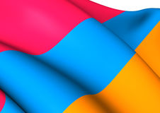Flag of Armenia Stock Images