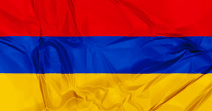 Flag of Armenia Royalty Free Stock Images