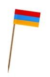 Flag of Armenia Royalty Free Stock Photo