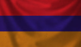 Flag of Armenia. Royalty Free Stock Images
