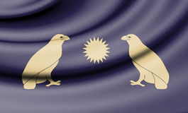 Flag of Arsacid dynasty. Royalty Free Stock Photo