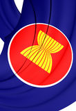 Flag of ASEAN Stock Image