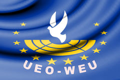 Flag of Assembly of the Western European Union. Royalty Free Stock Photos