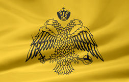 Flag of Athos royalty free stock image