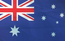 Flag of australia. Grunge background edit Royalty Free Stock Image