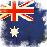 Flag of Australia Stock Image