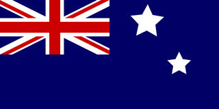 Flag of Australia Stock Images