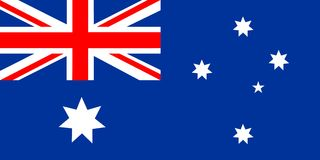 Flag of Australia Royalty Free Stock Photography