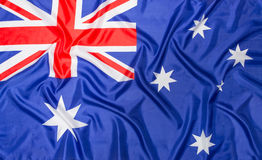 Australian Flag of Australia Stock Photos