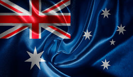 Flag of Australia Stock Photography