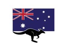 Flag of Australia Royalty Free Stock Photos