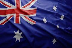 Flag of Australia stock photography