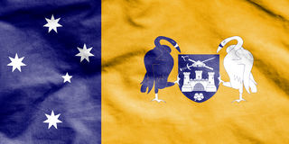 Flag of Australian Capital Territory. Royalty Free Stock Image