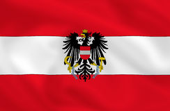 Flag of Austria Stock Photos